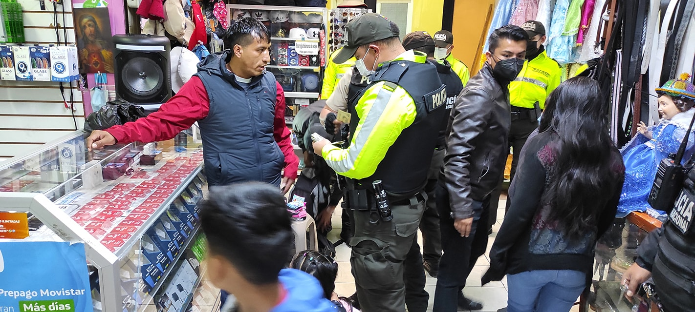El Gobernador de Tungurahua, Ing. Fernando Gavilanes, impulsa acciones permanentemente que obedecen al Plan de Seguridad Ciudadana en la provincia de Tungurahua desde diferentes frentes